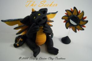 The Seeker by divineclaycreations