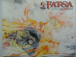 Fatsa sketch cover commission by kourmpamp