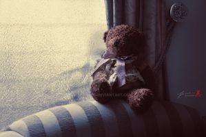 Waiting For My Teddy by FrankGo