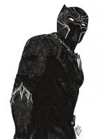 Black Panther by DaegStone