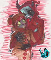 Beary and Wayward by WaywardDemon