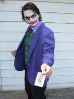 Joker: Here's My Card XXXIV by nightstocker
