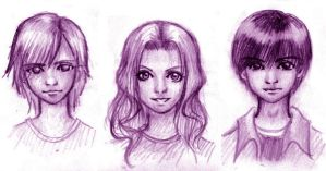 Maximum Ride Flock Elders by CherieGu