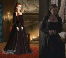 Princess Mary's Funeral Dress Ver. 1 by LadyAquanine73551