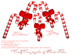 Candy Canes Christmas stock by Hermit-stock