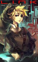 Legend of Link - the Coverboy by kimchii