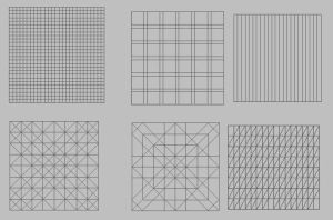 Perspective grid shapes by manukblm