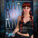 Instant Hair PSD Stock - Alice | 2000px 300dpi by MakeMeMagical