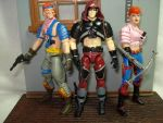 custom g.i.joe zandar zarana by hunterknightcustoms
