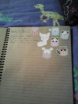 Front page of my notes book by baconpancakes0909