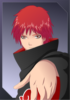 Sasori of the red sand by Ironcid
