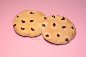 Chocolate Chip Cookie Magnets For Sale by ClayConfectionary
