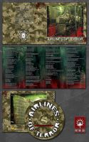 AIRLINES OF TERROR CD Artwork by FabioListrani
