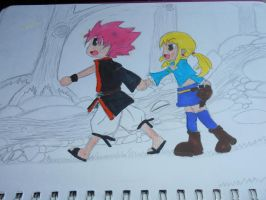 Nalu - he took me to a place with out colours by MelodyLockstar