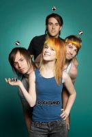 Paramore Rock Band III by Pabloan