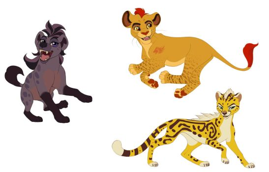 Kion and Co by we-were-in-love