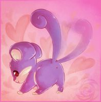 PKMN: Rattata used Attract by Zilleniose