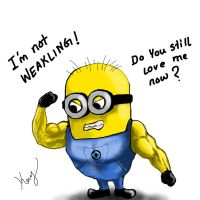 My Minion (Doyoustilllovemenow?) by mrkmhtet
