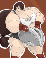 Muscular Tifa by Commoddity