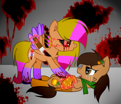 Now I'm gonna kill you Trishna (Gore) by miguelcaminoiscutie