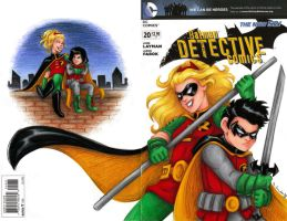 Robins Cover by msciuto