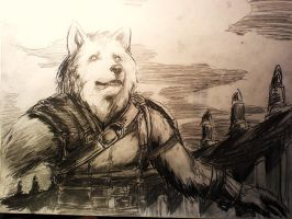 WTF Winter Lycan Gladiator by Onsiflao