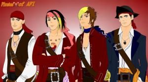 Pirates of AFI by naochelsea