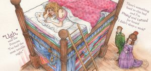 Princess And The Pea by Alene