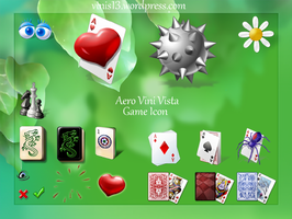 Aero Vini Vista icon games by Vinis13