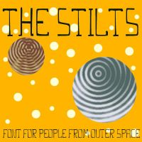 THE STILTS - a font for space by sampratot