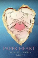Paper Heart by o0allaree0o