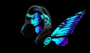 MAGNET Butterfly Headphones by Fuyumi-Aya