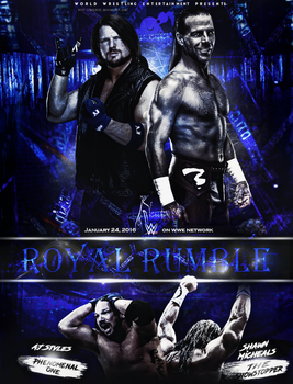 AJ Styles vs Shawn Micheals by WeeDyZz