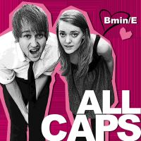 ALL CAPS Cover - 01 by shortMonica
