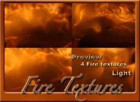 4 Fire textures light by Globaludodesign