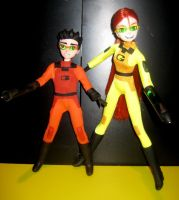 custom Grossology Abby and Ty by TeenTitans4Evr