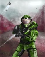 Master Chief by kvlly
