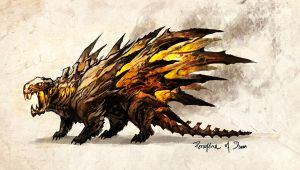 porcupine of doom by sandara
