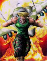 GUILE ... STREET FIGHTER by Josher-Jonan