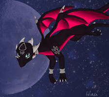 Flying Cynder by Lilac-The-Gerbil