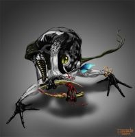 Poison Frog Warrior for Train Your Brain contest by floopate