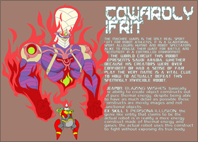 Cowardly Ifrit by Tyrranux