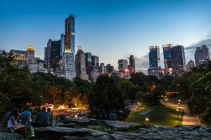 Sunset At Central Park by WTek79
