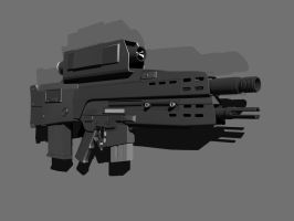 XM29 OICW by OutcastOne