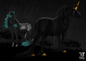 Rendevous in the Rain. by DodgerMD