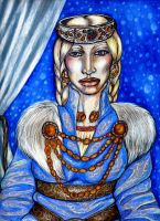 Sydrin, Ice Queen by Yundah