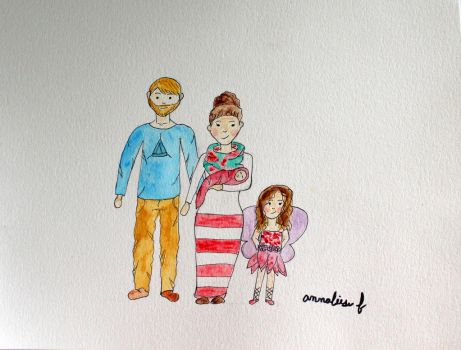 Whimsical family by stuff73920147