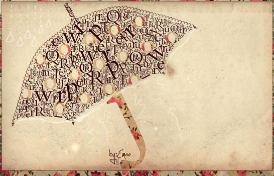 Typography by e-emoo