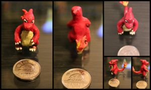 #005 Charmeleon by cheese-puff82