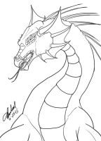 Dragon Doodle by Tigershark06